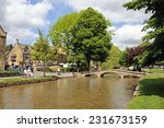 Bourton On The Water  Uk   Jun...
