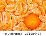 Mandarine Orange Among Mandari...
