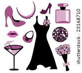 vector illustration of woman... | Shutterstock .eps vector #23168710