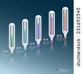 vector infographic template... | Shutterstock .eps vector #231692545