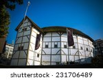 globe theatre | Shutterstock . vector #231706489