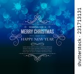 Merry Christmas Greeting With...