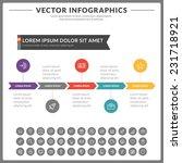 vector abstract infographics... | Shutterstock .eps vector #231718921