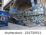 Graffiti Artist Illegally...