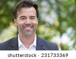 portrait of a businessman... | Shutterstock . vector #231733369