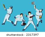 baseball  vector  | Shutterstock .eps vector #2317397