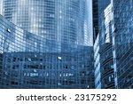 skyscraper walls and windows  ...