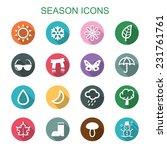 Season Long Shadow Icons  Flat...