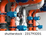 pipe refrigeration compressors.  | Shutterstock . vector #231793201