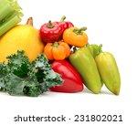 assortment of fresh vegetables... | Shutterstock . vector #231802021