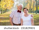 portrait of older smiling... | Shutterstock . vector #231829831
