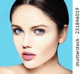 high fashion look.glamor... | Shutterstock . vector #231846019