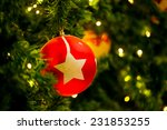 christmas decor | Shutterstock . vector #231853255