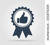 vector icon. flat vector... | Shutterstock .eps vector #231876205