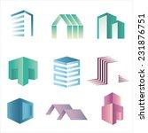 vector city buildings... | Shutterstock .eps vector #231876751