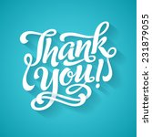 vector calligraphic inscription ... | Shutterstock .eps vector #231879055