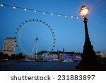 London November 5  London Eye...