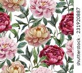 Rose  Peony  Pattern
