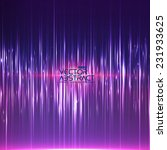 abstract random glowing lines... | Shutterstock .eps vector #231933625