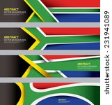abstract south african flag ... | Shutterstock .eps vector #231941089