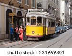 lisbon  portugal   june 24  old ... | Shutterstock . vector #231969301