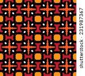ethnic pattern | Shutterstock .eps vector #231987367