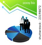 2009 biz team | Shutterstock .eps vector #23198872