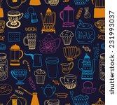 the seamless vector pattern...   Shutterstock .eps vector #231993037