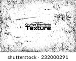 grunge texture   abstract stock ... | Shutterstock .eps vector #232000291