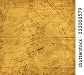 vintage envelopes  old letters... | Shutterstock . vector #232003579