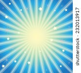 blue background with stars and... | Shutterstock .eps vector #232013917
