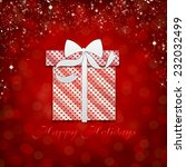 christmas background   | Shutterstock . vector #232032499