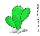 cactus isolated illustration on ...