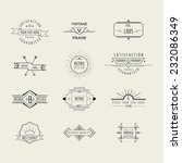 set of badges and labels... | Shutterstock .eps vector #232086349