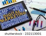 digital marketing  | Shutterstock . vector #232113001