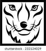 fox head | Shutterstock .eps vector #232124029