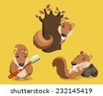 Squirrel Chipmunk Rodent Tail...