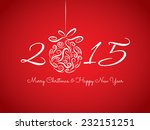 happy new year 2015 | Shutterstock .eps vector #232151251