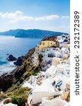greece  santorini  oct 3  top... | Shutterstock . vector #232172389