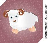 cute little sheep | Shutterstock .eps vector #232181989