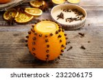 How To Make Orange Pomander...