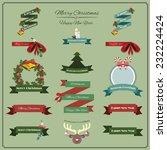 festive banners   Shutterstock .eps vector #232224424