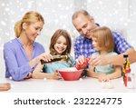 food  family  children ... | Shutterstock . vector #232224775