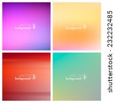 abstract colorful smooth... | Shutterstock .eps vector #232232485