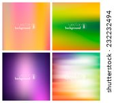 abstract colorful smooth...   Shutterstock .eps vector #232232494