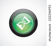 hourglass glass sign icon green ...