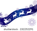 santa is coming | Shutterstock .eps vector #232252291