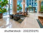 modern lobby  hallway  plaza of ... | Shutterstock . vector #232253191
