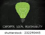 corporate social responsibility ... | Shutterstock . vector #232290445