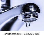 Faucet With Dripping Water